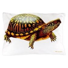 Colorful Eastern Box Turtle Pillow Case