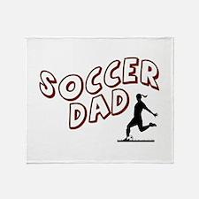 Soccer Dad (daughter) Throw Blanket