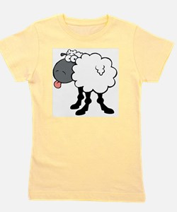 Sheepish  Girl's Tee