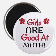 Girls ARE good at math! Magnet