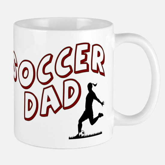 Soccer Dad (daughter) Mugs