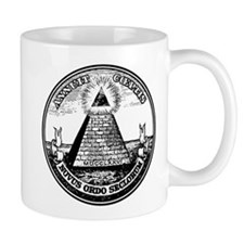 Steampunk Illuminati New Order Mug