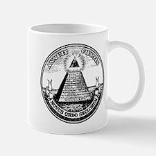 Steampunk Illuminati New Order Mug