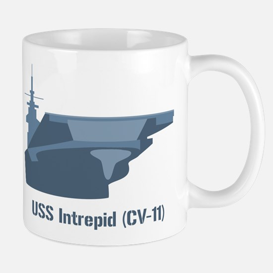 USS Intrepid Mugs