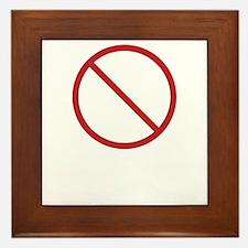 Dangerous Business Framed Tile
