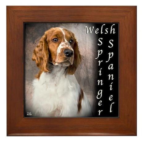 Welsh Springer Spaniel Framed Tile