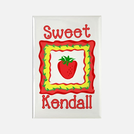 Sweet Kendall Rectangle Magnet