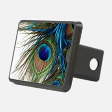 Peacock Feathers Hitch Cover