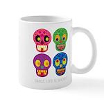 Smile life is short - Skulls Mugs