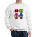 Smile life is short - Skulls Sweater