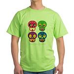 Smile life is short - Skulls T-Shirt