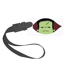 Peeking Frankenstein Luggage Tag