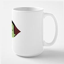Peeking Frankenstein Large Mug