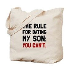 Dating Son Rule Tote Bag