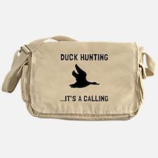 Duck Hunting Calling Messenger Bag