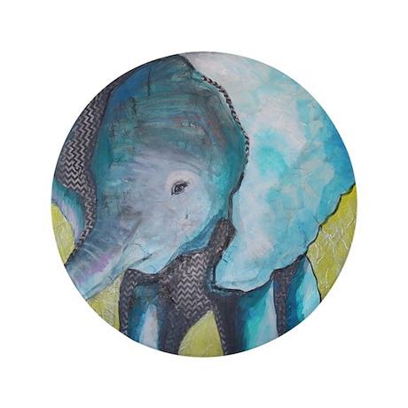 """Canon's Elephant 3.5"""" Button"""
