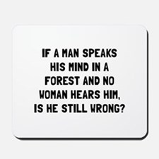 Man Forest Mousepad
