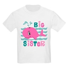 Whale Big Sister T-Shirt