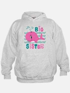 Whale Big Sister Hoodie