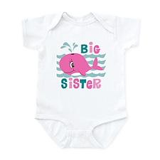 Whale Big Sister Infant Bodysuit