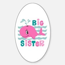Whale Big Sister Decal