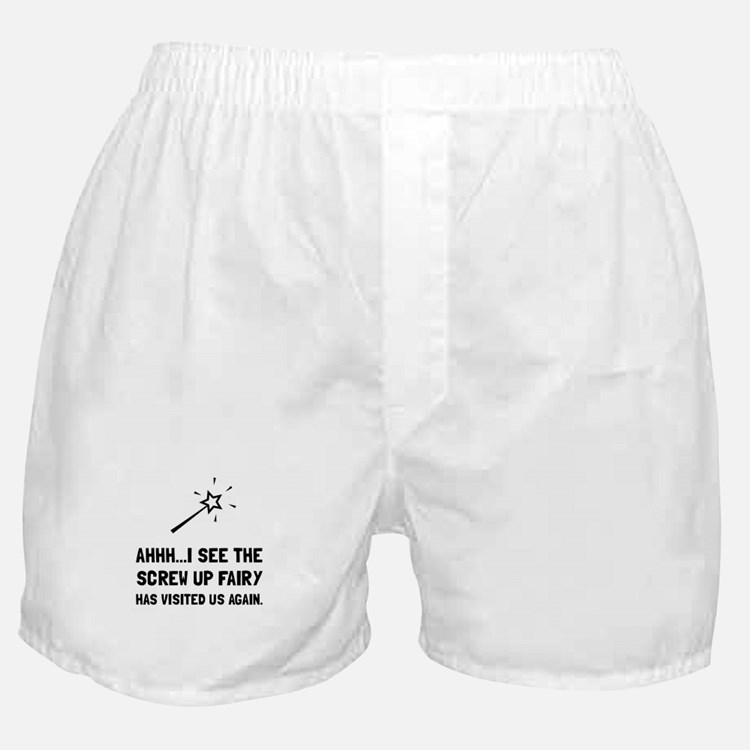 Screw Up Fairy Boxer Shorts
