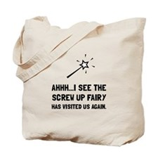 Screw Up Fairy Tote Bag