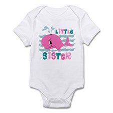 Whale Little Sister Infant Bodysuit