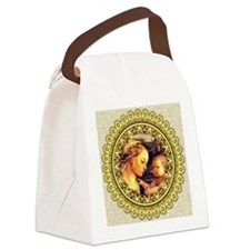 Virgin with Child Jesus by Lippi Canvas Lunch Bag