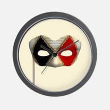 Masquerade Mask Wall Clock