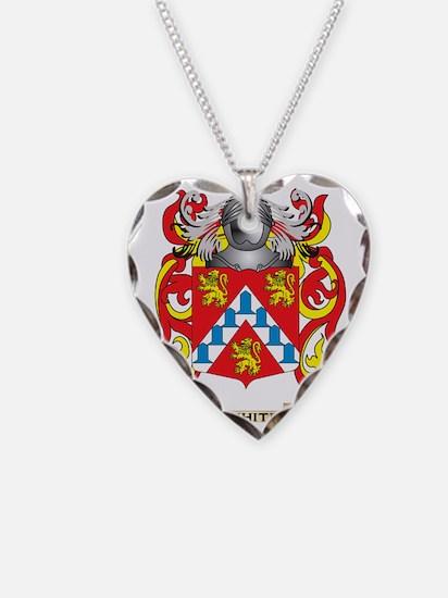 White (Ireland) Family Crest  Necklace