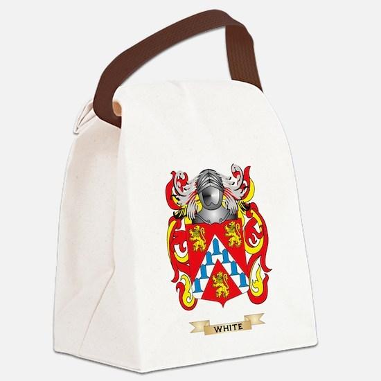White (Ireland) Family Crest (Coa Canvas Lunch Bag