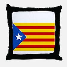 Catalan Independence Throw Pillow