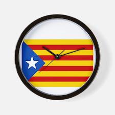 Catalan Independence Wall Clock