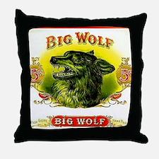 Big Wolf Throw Pillow