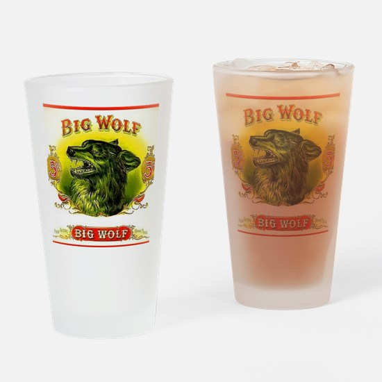 Big Wolf Drinking Glass