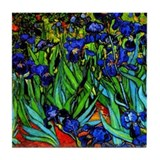 Van gogh irises Drink Coasters