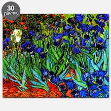 Van Gogh - Irises Puzzle
