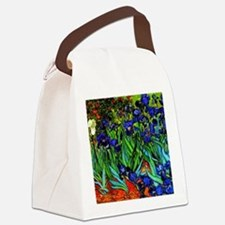 Van Gogh - Irises Canvas Lunch Bag