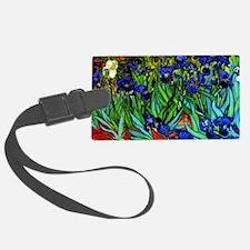 Van Gogh - Irises Luggage Tag