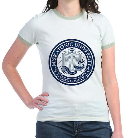 Miskatonic University Jr. Ringer T-Shirt