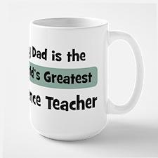 Worlds Greatest Science Teach Mugs