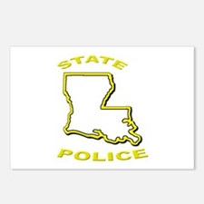 Louisiana State Police Postcards (Package of 8)