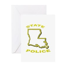 Louisiana State Police Greeting Cards