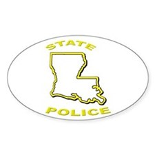 Louisiana State Police Decal