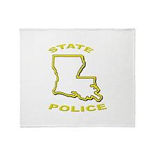 Louisiana State Police Throw Blanket