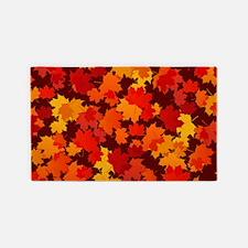 Autumn Leaves 3'x5' Area Rug