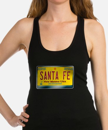 """SANTA FE"" New Mexico License Plate Tank Top"