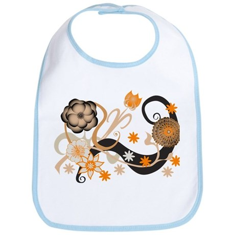 Cool Flowers Bib