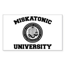 Miskatonic University Rectangle Decal